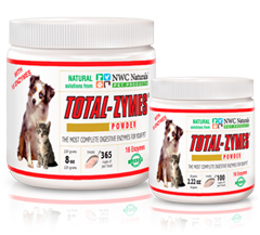 Total-Zymes® Maximizing the nutrients your dog receives from food