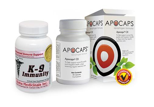 Apocaps® and K9 Immunity™